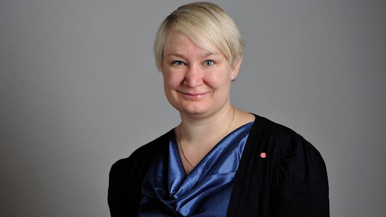 Elin Lundgren (S). Foto: Henrik Montgomery/Scanpix.