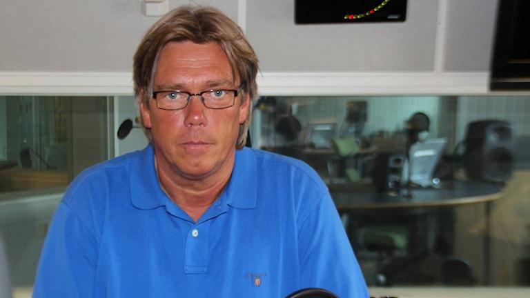 Pelle Olsson. Foto:Isak Engström/Sveriges Radio Gävleborg