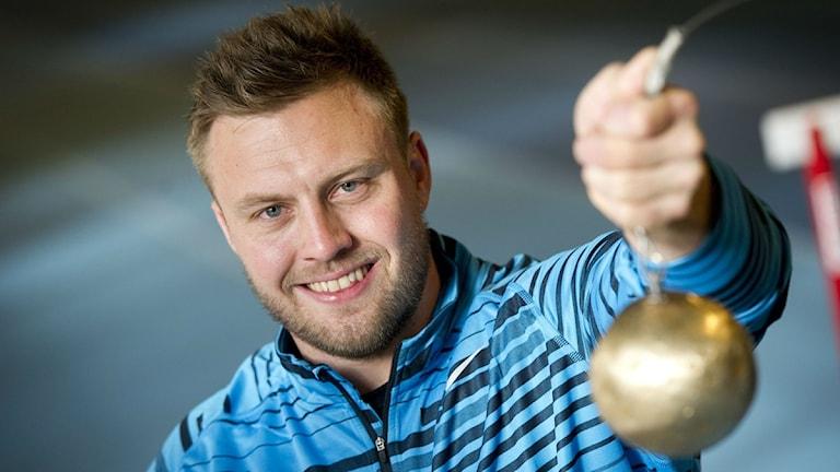 Idag är det dags för släggkval för Mattias Jons från Ängebo. Foto: scanpix