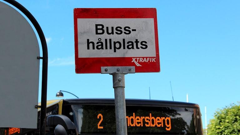 Bussarna i Gävle stannar vid Rådhustorget igen.