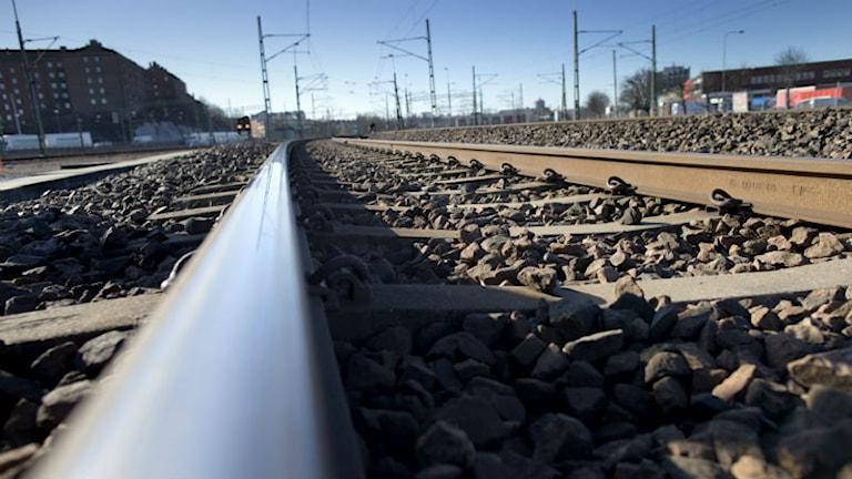 Många kopparstölder som rör järnvägen inträffar varje år. Foto: Björn Larsson Rosvall/Scanpix.