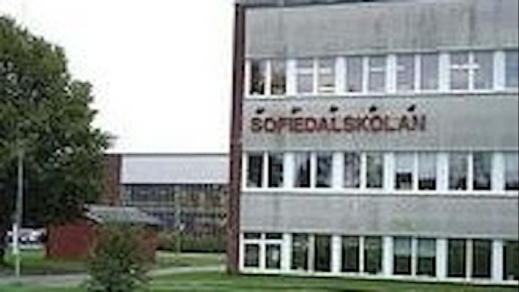 Sofiedalsskolan i Valbo. Foto: Christine Odén SR Gävleborg