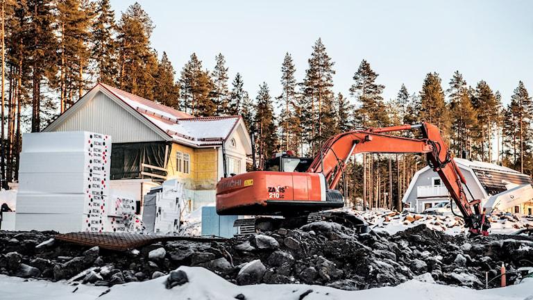 Den reducerade avgiften för byggärenden gäller i gäller i Sandviken, Ockelbo och Hofors.