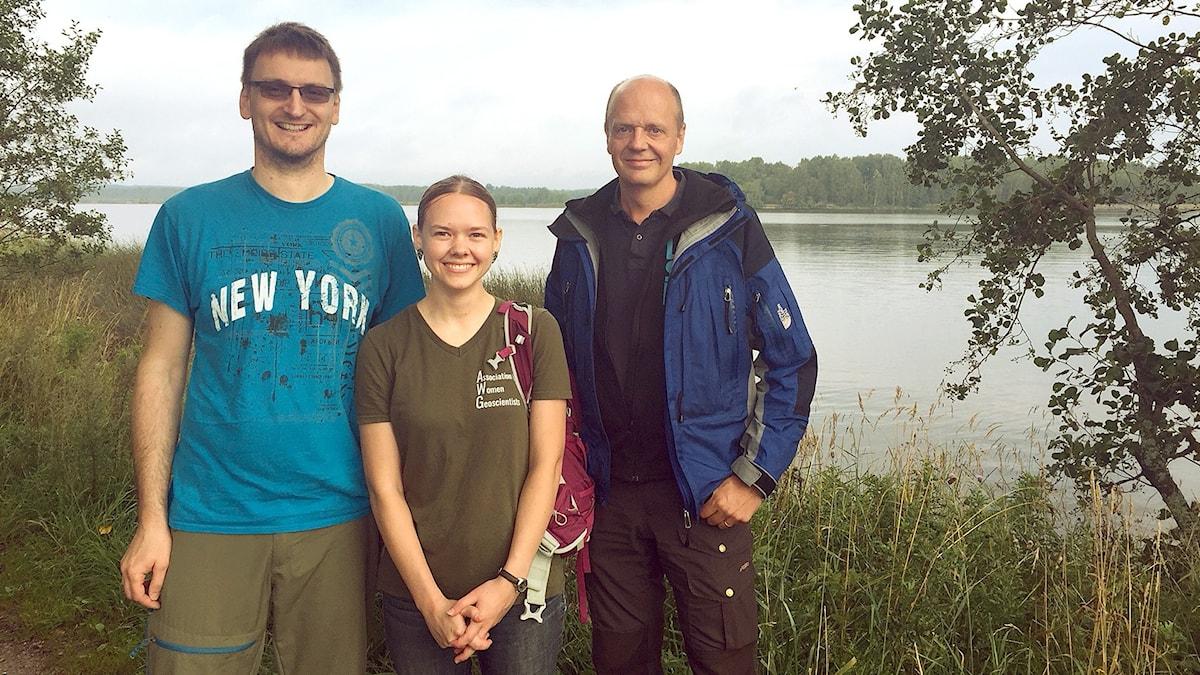 Holger Steffen, Jennifer Taylor och Per Anders Olsson