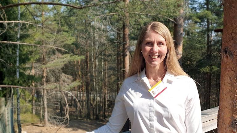 Åsa Sjöström från SMHI