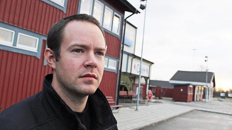 Edsbyns lagkapten Jonas Edling satte tre mål mot Motala.