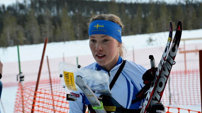Tove Alexandersson. Foto: Malin Björkqvist/Svenska orienteringsförbundet