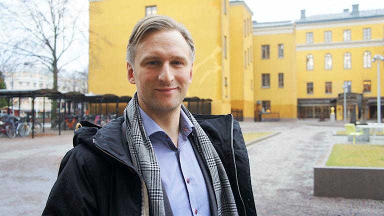 Jörgen Edsvik. Foto: Linn Fogelberg/Sveriges Radio