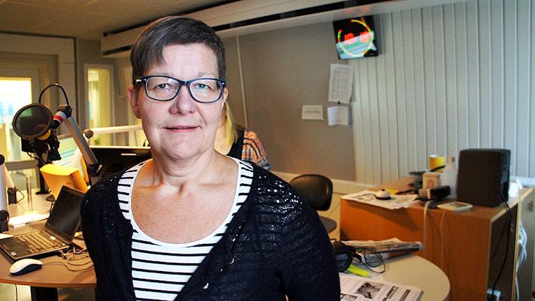 Erica Embretsen Almer. Foto: Linn Fogelberg/Sveriges Radio