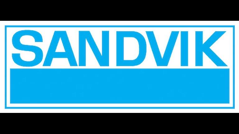 Sandvik logotype. Foto: Sandvik