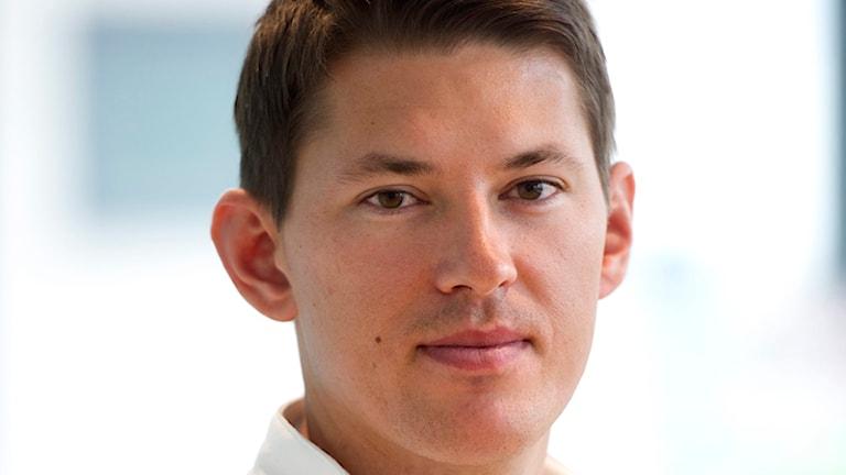 André Myhrer. Foto: Fredrik Sandberg/TT.