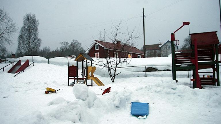 Det väcks nu åtal efter dödsolyckan på en förskola i Järbo för tre år sedan då en treårig pojke tragiskt omkom. Foto: Pernilla Wahlman/TT.