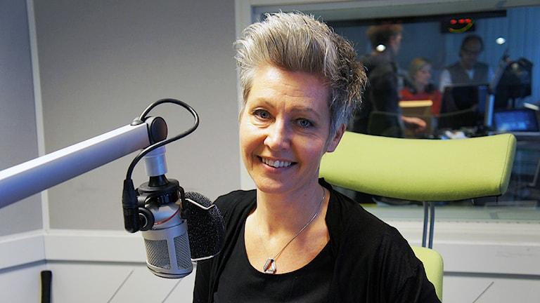Pia Möller Andersen. Foto: Linn Fogelberg/Sveriges Radio