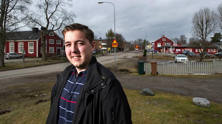 Kevin Sjögren. Fotograf: Trons.