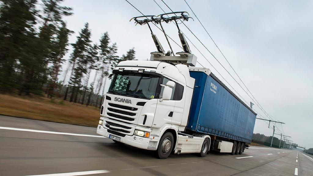 Elväg i Tyskland. Foto: Dan Boman 2013/Scania