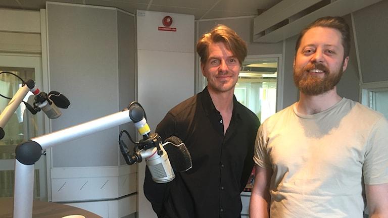 Viktor Wesslen och Jocke Lindgren från Demofabriken.