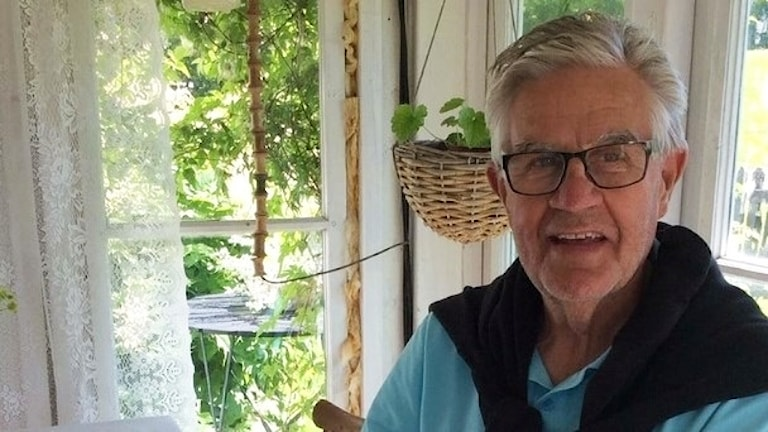 Sten Inge Ström innan han blev sjuk i cancer.