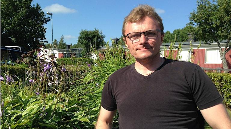 Rullstolsburne Lars-Göran Wadén tycker det är synd att tillgängligheten är låg. Foto: Harald Hans-Ers/Sveriges Radio