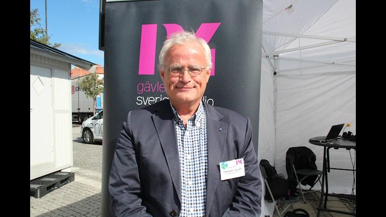 Gunnar Canslätt (KD). Foto: Maria Zander/Sveriges Radio