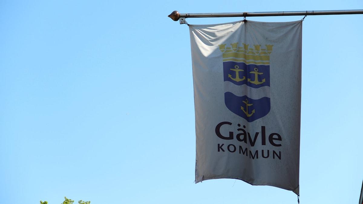 Gävles kommunflagga