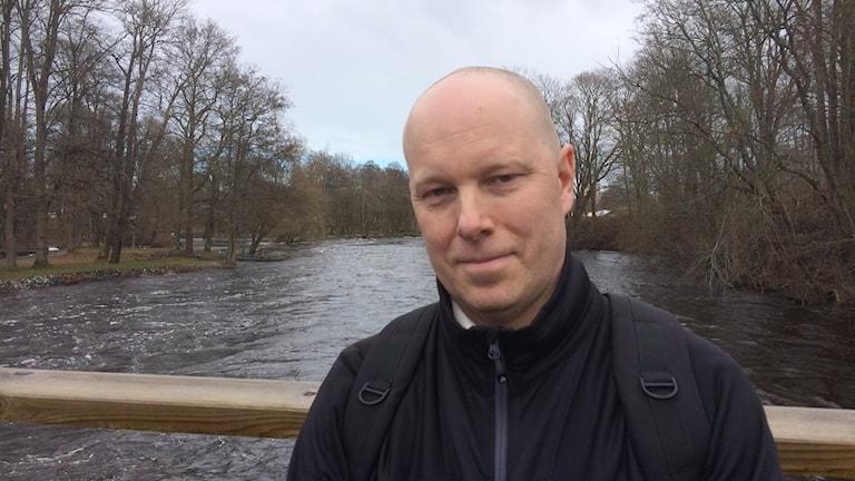 Patric Falk, säkerhetschef Gävle kommun