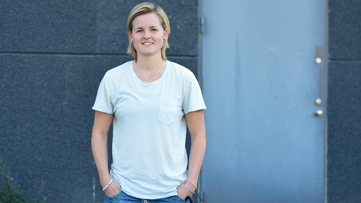 Madeleine Östling, tränare Brynäs damhockey. Foto: Anna-Karin Lampou/Sveriges Radio