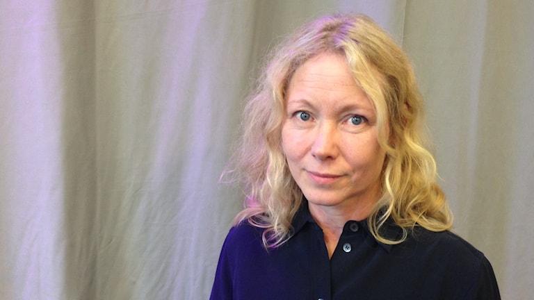 Anna Livion Ingvarsson. Foto: Staffan Mälstam/Sveriges Radio.