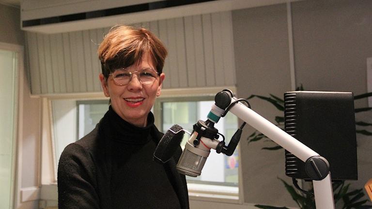 Gävles nya stadsarkitekt Helena Tallius Myhrman gästade studion.