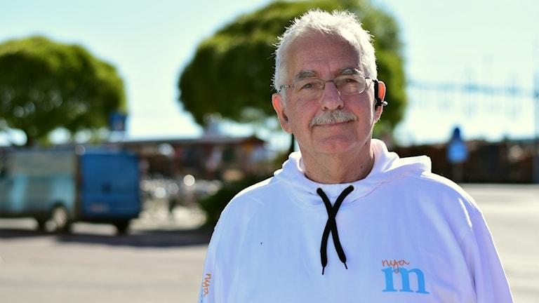 Lars Molin, Moderaterna Ljusdal. Foto: Anna-Karin Lampou/Sveriges Radio