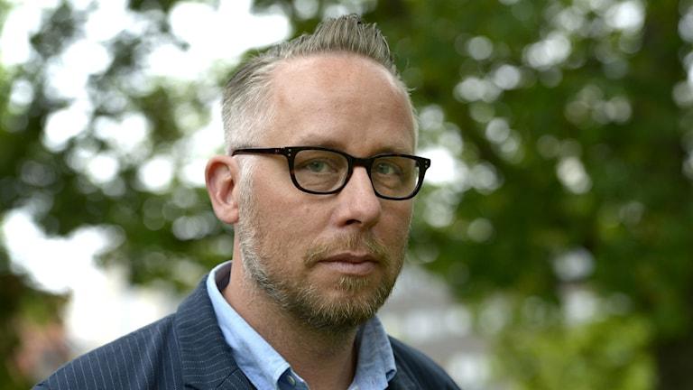 Po Tidholm prisas för sin journalistik om Norrland. Foto: JanErik Henriksson / TT