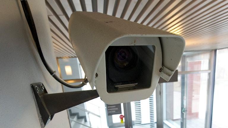 Övervakningskamera. Foto: TT.