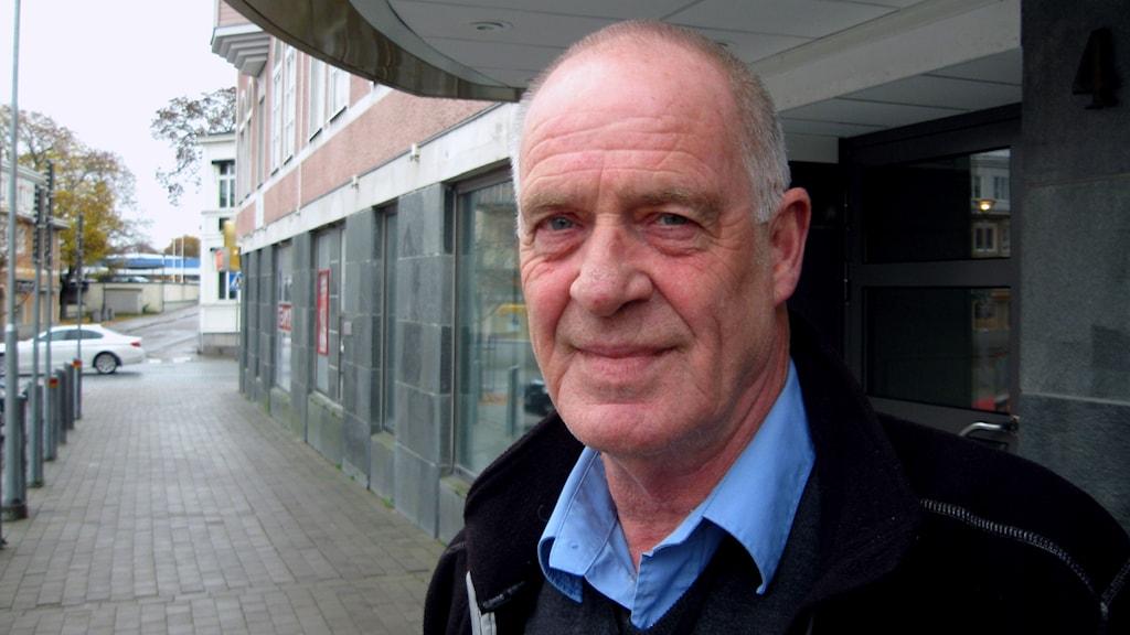 Tommy Ljung (M) menar att frågan kring substitutionsbehandlingar är känslig för landstinget, man tar inte tag i frågan. Foto: Tomas Groop/Sveriges Radio