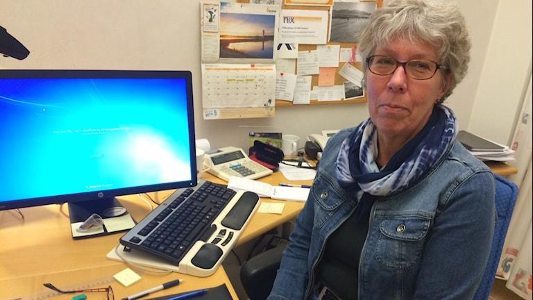 Ingrid Larsson, konsumentrådgivare i Bollnäs. Foto: Agneta Sundberg/Sveriges Radio
