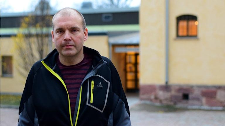 Peter Figaro, Kulturhus Lätting. Foto: Anna-Karin Lampou/Sveriges Radio