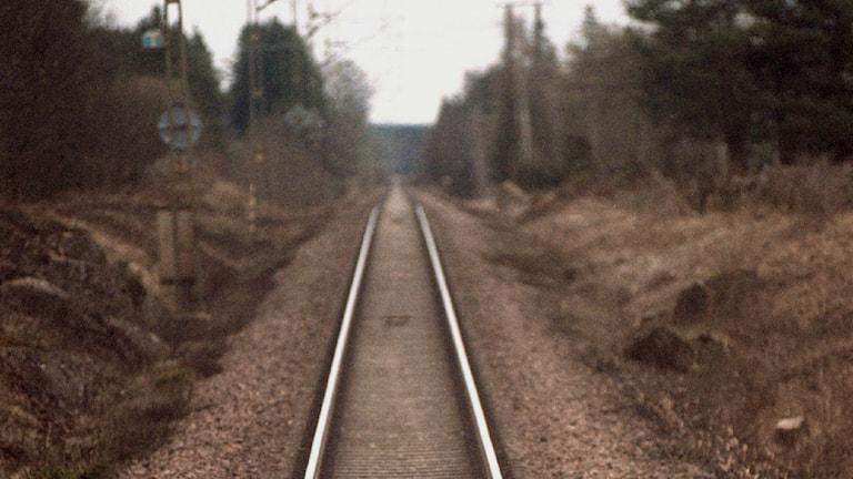 Det är ännu osäkert om dubbelspår mellan Gävle och Sundsvall kommer bli av. Foto:TT