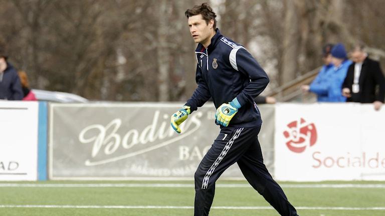 Emil Hedvall förlänger med Gefle IF i ett tvåårskontrakt. Foto: TT