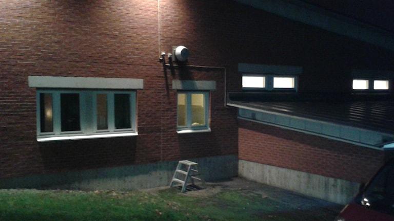 Fyra personer rymde från Migrationsverket i Gävle under natten. Foto: Roger Nilsson