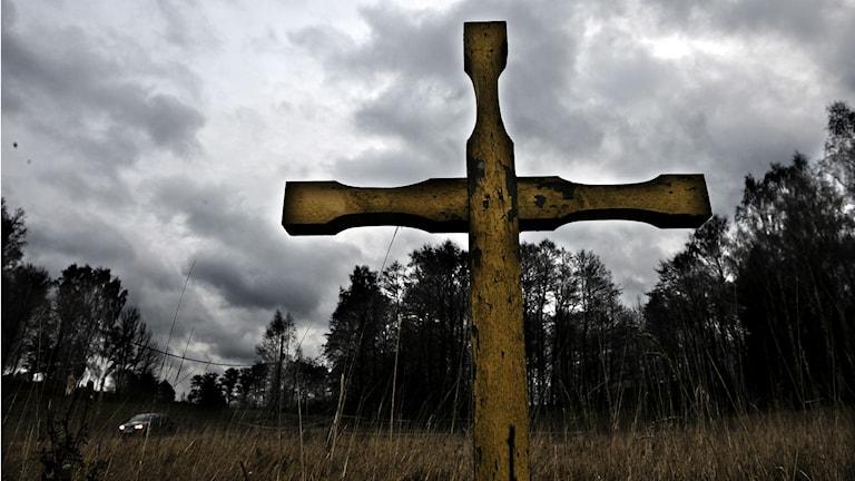Det råder tuffa tider för begravningsbranschen. Bättre folkhälsa och att vi lever längre kan vara två av orsakerna. Foto: TT