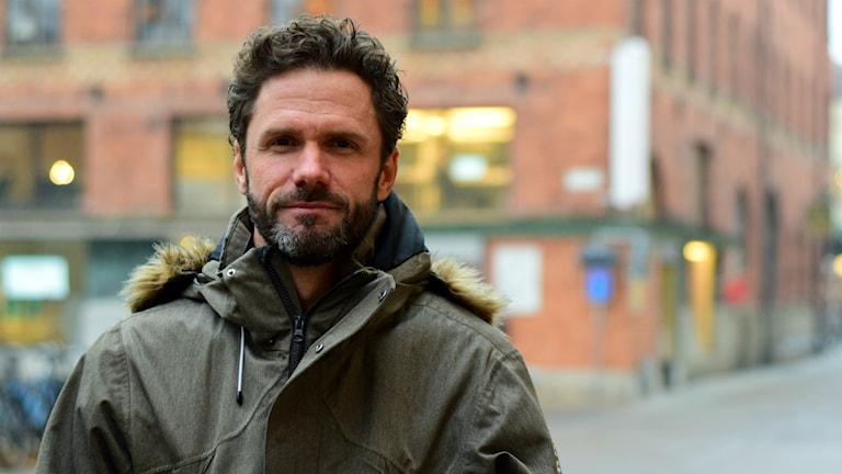 Johan Adolfsson, kommunikationschef på Gävle kommun. Foto: Anna-Karin Lampou/Sveriges Radio