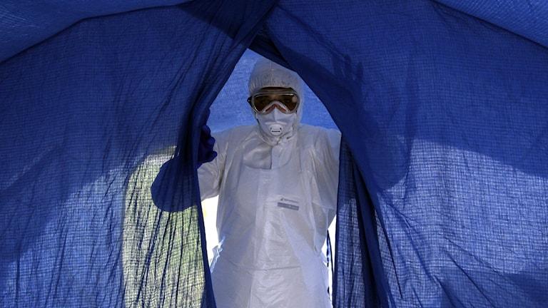 Beredskapen för ebola i länet är god, men kan färbättras. Foto: TT