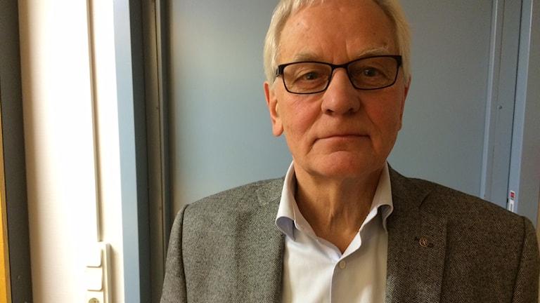 Allan Cederborg (M). Foto: Julia Burman Görans/Sveriges Radio