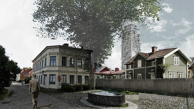 Så här kan den nya höghusbyggnaden se ut i Gävle.