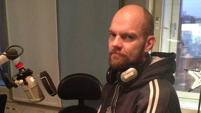 """Marcus Berggren från Ljusdal ska delta i tävlingen """"Arrowhead Ultra 135"""". Foto: Linnéa Forss/P4 Gävleborg"""
