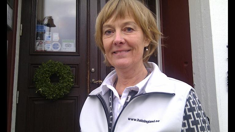 Maria Owen på Hälsingland turism tror att fler hälsingegårdar kan bli världsarv.