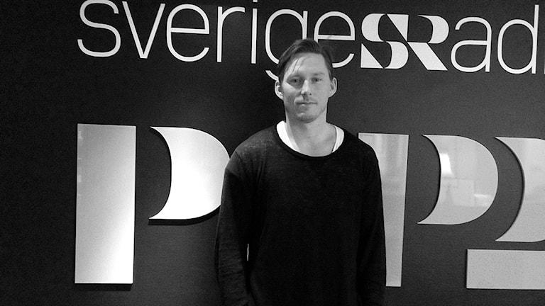 """Johan """"Honken"""" Holmqvist har lämnat Brynäs för Almtuna. Foto: Martin Svensson / Sveriges Radio"""