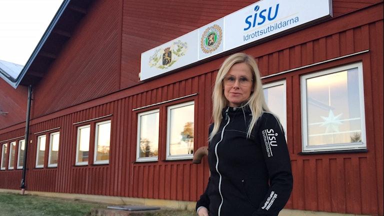 Helena Nilsson, idrottskonsulent på Hälsinlands idrottsförbund. Foto: Agneta Sundberg/Sveriges Radio
