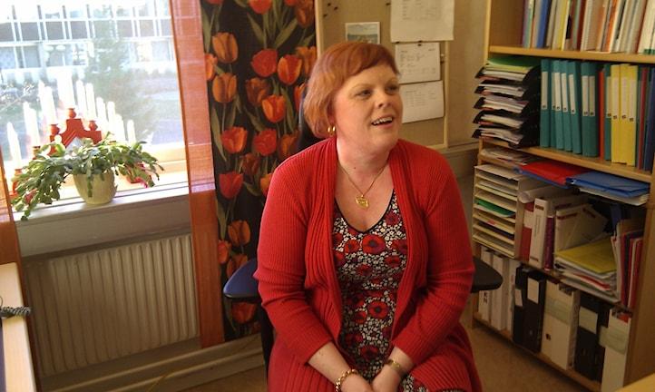 Tina Mansson, medicinskt ansvarig sjuksköterska i Bollnäs kommun, är inte grå