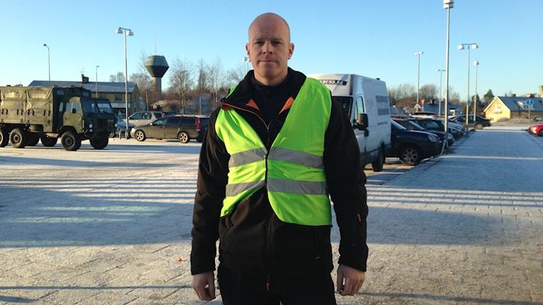 Mats Hult, operativ chef för Missing People. Foto: Wenda Hajo/Sveriges Radio