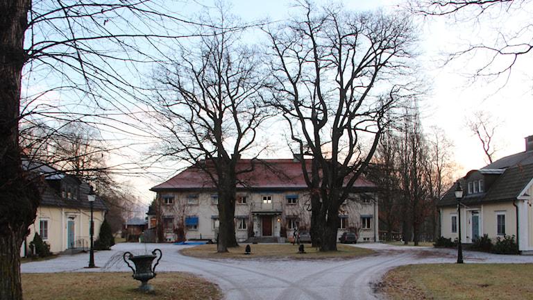 Kilafors Herrgård blir asylboende i vinter. Foto: Julia Burman Görans/Sveriges Radio.
