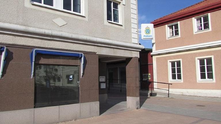 Sala polisstation. Arkivfoto: Samuel Sillén/Sveriges Radio